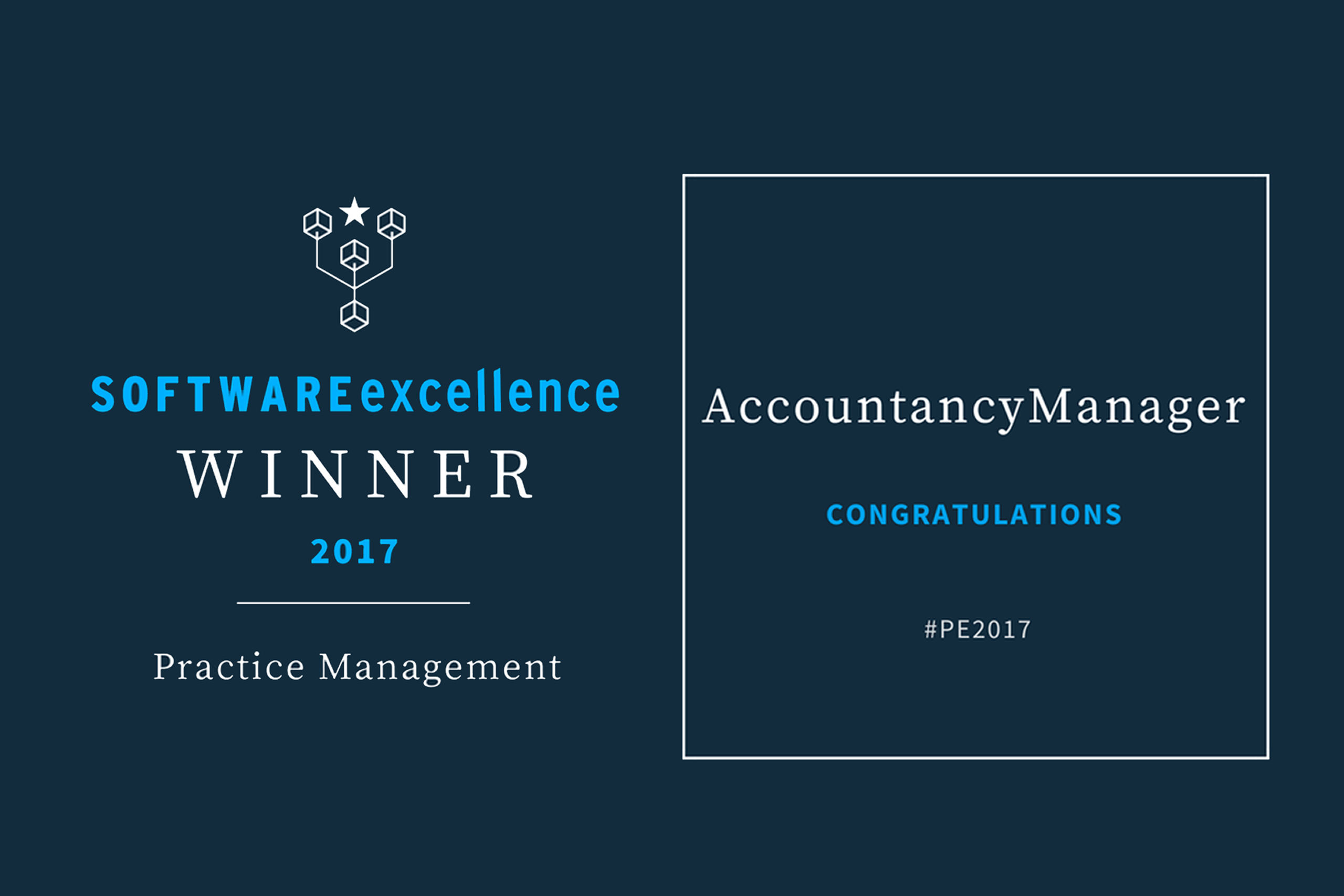AccountancyManager Wins the Software Excellence 'Practice Management' Award
